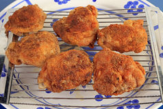 Fried Chicken Thighs Royalty Free Stock Photo