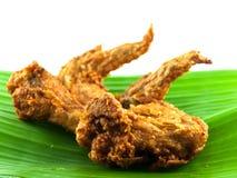 Fried Chicken-vleugel Stock Afbeelding