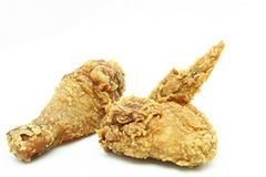 Fried chicken wing and drumstick Royalty Free Stock Photos