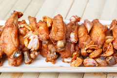 Fried chicken wing. Stock Images