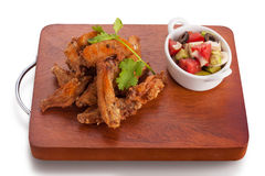 Fried chicken wing Stock Image