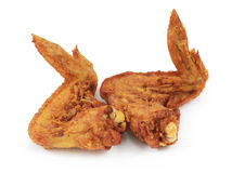 Fried Chicken Wing Royalty Free Stock Photography