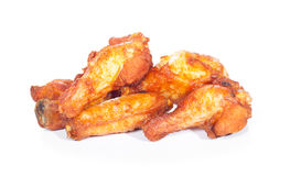 Fried chicken wings Stock Images