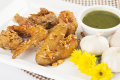 Fried Chicken Wings Royalty Free Stock Images