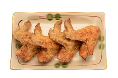 Fried Chicken Wings Stockfotos