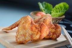 Fried Chicken Wings Imágenes de archivo libres de regalías