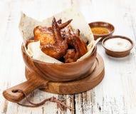 Fried Chicken Wings Imagen de archivo