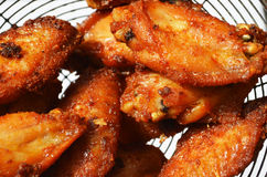 Fried Chicken Wings Stockbild