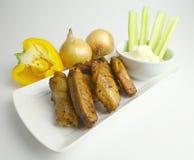 Fried Chicken Wings Stock Foto