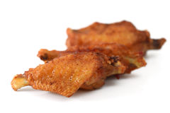 Fried Chicken Wings Fotos de Stock Royalty Free