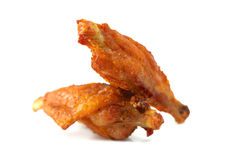 Fried Chicken Wings Foto de archivo libre de regalías