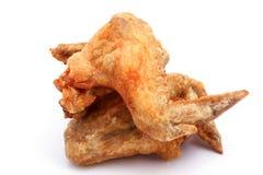 Fried Chicken Wings con la sal Fotografía de archivo libre de regalías