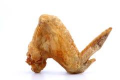 Fried Chicken Wings con la sal, foco selecto Foto de archivo