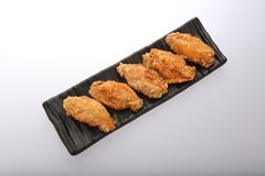 Fried Chicken Wings croccante Immagini Stock Libere da Diritti