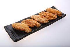 Fried Chicken Wings curruscante Foto de archivo