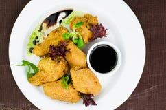 Fried Chicken Wings curruscante Imágenes de archivo libres de regalías