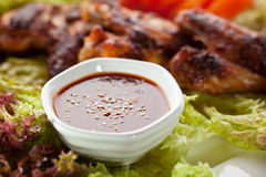 Fried Chicken Wings Stock Image