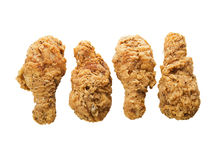 Fried chicken wings Stock Photos
