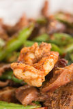 Fried chilly paste with shrimp Stock Photography