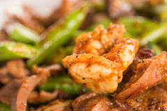 Fried chilly paste with shrimp Royalty Free Stock Image
