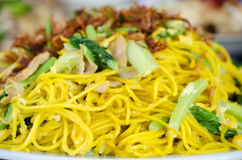 Fried chinese noodle Stock Photos
