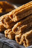 Fried Churros profundo caseiro Foto de Stock Royalty Free