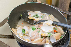 Fried clams Royalty Free Stock Image