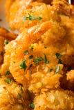 Fried Coconut Shrimp casalingo fotografie stock