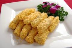 Fried codfish roll Royalty Free Stock Image