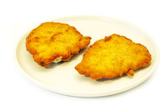 Fried cordon blue Royalty Free Stock Images