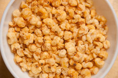 Fried corn also known as CORNICKS Stock Photography