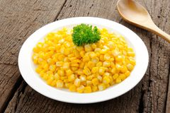 Fried corn Royalty Free Stock Photos
