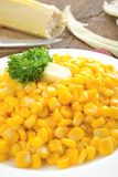 Fried corn Stock Image