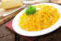 Fried corn Stock Images