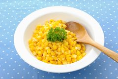 Fried corn Royalty Free Stock Photo