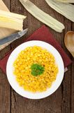 Fried corn Stock Photography