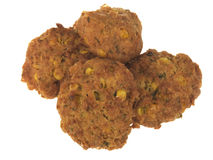 Fried Corn Fritters Royalty Free Stock Images