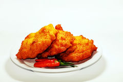 Fried corn Royalty Free Stock Image