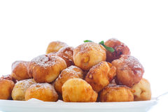 Fried cottage cheese balls Royalty Free Stock Image