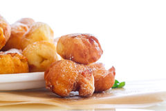 Fried cottage cheese balls Royalty Free Stock Photo