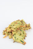 Fried courgette cakes. Royalty Free Stock Photography