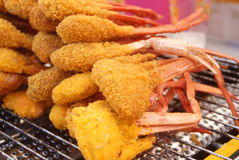 Fried crab Royalty Free Stock Photography