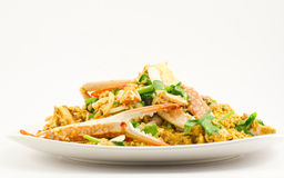 Fried Crab with Curry powder. Royalty Free Stock Photos