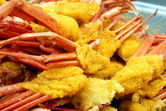 Fried crab Royalty Free Stock Image