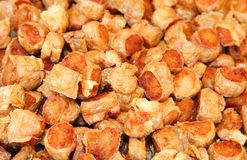 Fried crab sausage  Hoi Jor  Stock Image