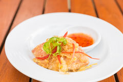 Fried crab Stock Images