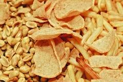 Fried cracker Royalty Free Stock Photo