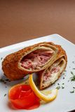 Fried crepes Royalty Free Stock Images