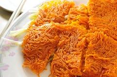 Fried crispy noodle Stock Image