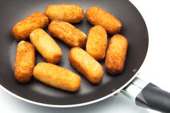 Fried croquettes Stock Image